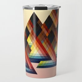 Learning to make fire Travel Mug