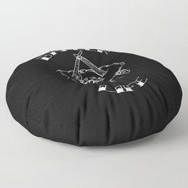 Barber Life Floor Pillow