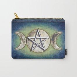 Moon Pentagram - Tripple Moon II Carry-All Pouch