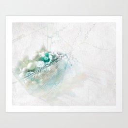 Egg Basket II Art Print