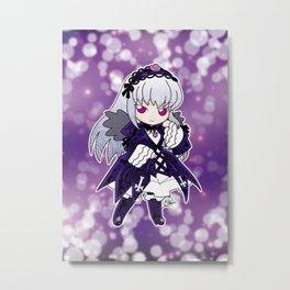 Chibi Suigintou Metal Print