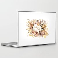hands Laptop & iPad Skins featuring Slumber by Freeminds