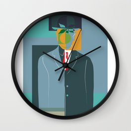 Son of man Wall Clock