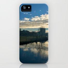 blue Ihme iPhone Case