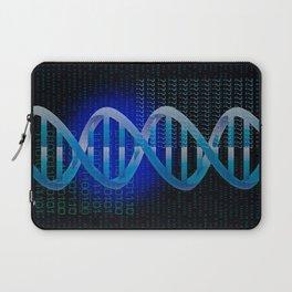 DNA ID Blue Laptop Sleeve