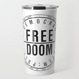 FreeDoom-1 Travel Mug