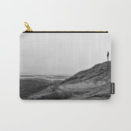 Standing on a Mountain Carry-All Pouch