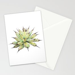 Agave macroacantha Stationery Cards