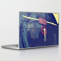 train Laptop & iPad Skins featuring train  by gzm_guvenc