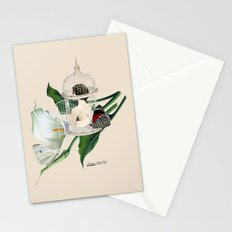 the cage door is always open Stationery Cards