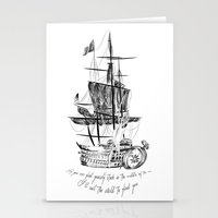 larry Stationery Cards featuring Larry tattooes by Drawpassionn