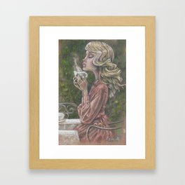 The Perfect Cup Framed Art Print