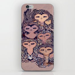 Day Owls iPhone Skin