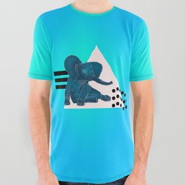 Happy Go Lucky All Over Graphic Tee