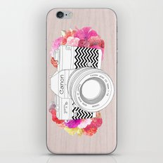 BLOOMING CAN0N iPhone Skin