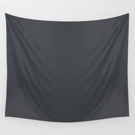 Illustrated Haystack Rock ~ Dark Grey Wall Tapestry