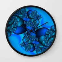 illusion Wall Clocks featuring Illusion by Christy Leigh