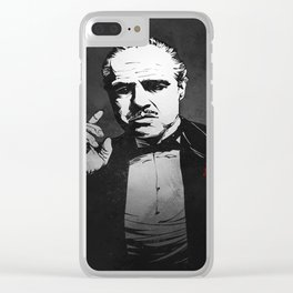 The Godfather Clear iPhone Case