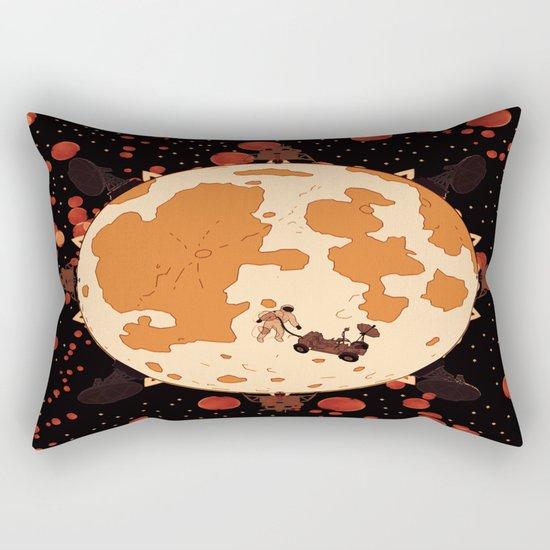 Man on the mars Rectangular Pillow