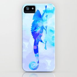 Abstract Chameleon Reptile iPhone Case