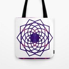 Passionate Purple Prayers Abstract Chakra Art  Tote Bag