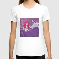 little mermaid T-shirts featuring Little mermaid by Jaimie Hutton