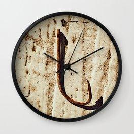 Hooked Wall Clock