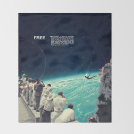 Free Throw Blanket