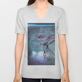 Fly Bird Unisex V-Neck