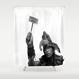 Gotcha! Shower Curtain