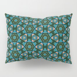Multi Colored Medallion Pillow Sham
