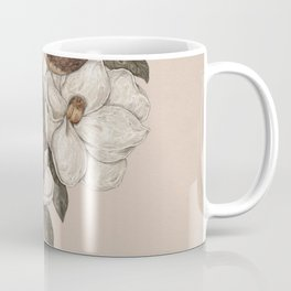 Snake and Magnolias Coffee Mug