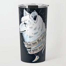 Wolf Protector Travel Mug