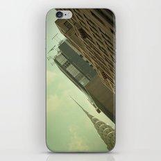 Skewed view iPhone & iPod Skin