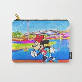 Run Minnie Run Carry-All Pouch