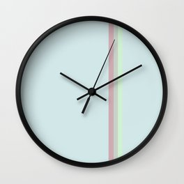 Vintage Lines Wall Clock