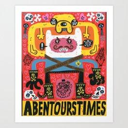 Las Aventuras de Pen Art Print