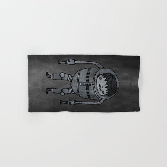 Cyborg Robot Zombie-boy Hand & Bath Towel