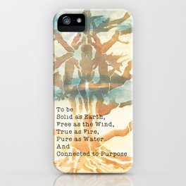The Faerie Code iPhone Case