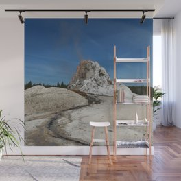 White Dome Wall Mural