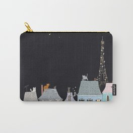 Cats in Paris Carry-All Pouch