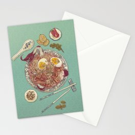 Phở Lady Stationery Cards