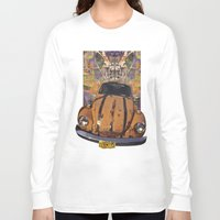 woodstock Long Sleeve T-shirts featuring VW ~Bug power by Bruce Stanfield