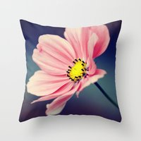 cosmos Throw Pillows featuring Cosmos by Lawson Images