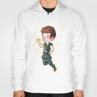 peter pan Hoodies featuring Peter Pan by Sunshunes