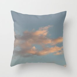 love · clouds Throw Pillow