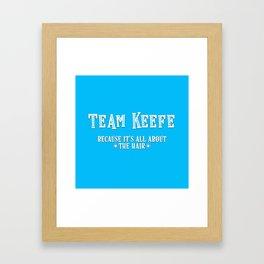 Team Keefe Framed Art Print