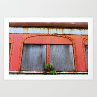 All Boarded up Art Print