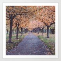 Berlin in Fall Art Print