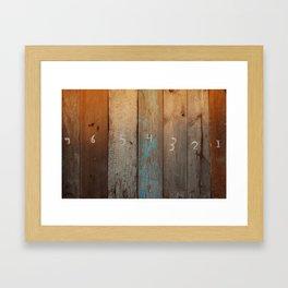 onetoseven Framed Art Print